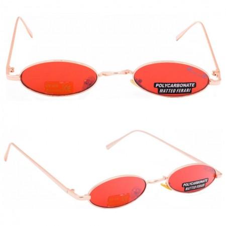 Ochelari de soare dama rosii originali Matteo Ferari lentila polarizata