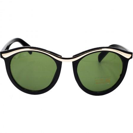 Ochelari de soare dama negri eleganti originali Matteo Ferari lentila polarizata