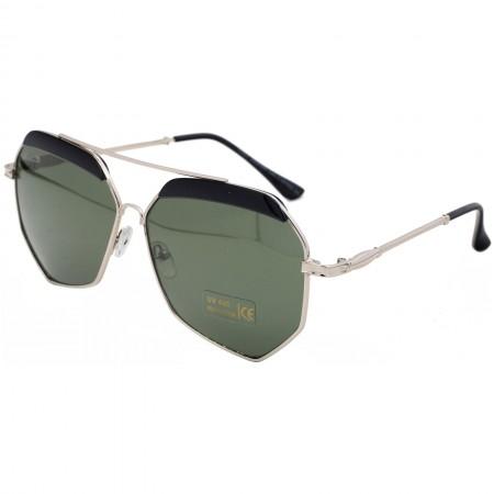 Ochelari de soare dama argintii originali Matteo Ferari lentila polarizata