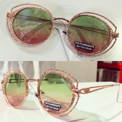Ochelari de soare dama rose originali Matteo Ferari lentila polarizata