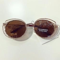 Ochelari de soare dama maro originali Matteo Ferari lentila polarizata