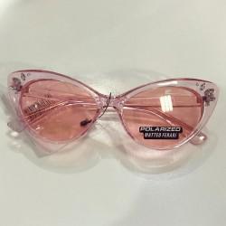 Ochelari de soare dama roz ieftini originali Matteo Ferari lentila polarizata