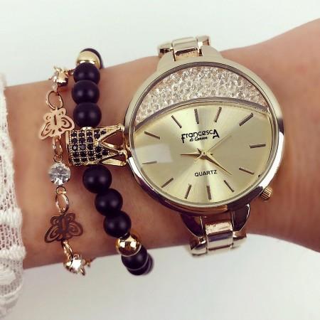 Ceas dama auriu elegant