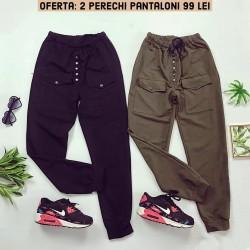 Oferta: 2 Perechi de Pantaloni casual doar 99 RON!