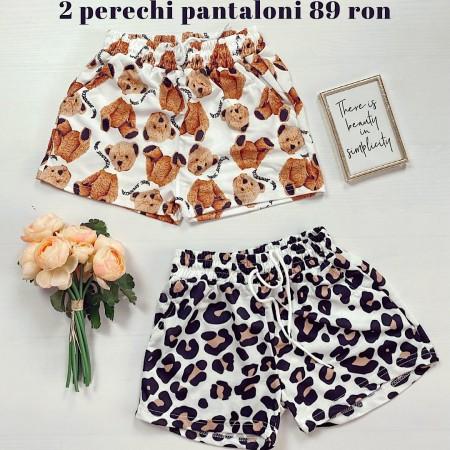 Oferta: 2 Perechi de Pantaloni scurti casual doar 89 RON!
