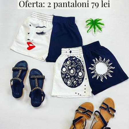 Oferta: 2 Perechi de Pantaloni scurti casual doar 79 RON!