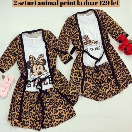 Oferta: 2 seturi compleu pijama la doar 129 lei