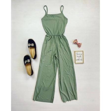 Salopeta dama lunga casual verde