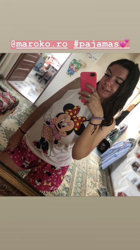 Vă mulțumesc frumos și pentru pijamale! Sunt foarte comode și numai bune pentru vremea asta extra călduroasă! 😂💕💕 - Patricia