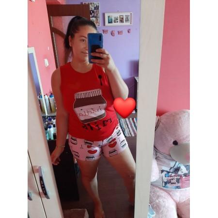 Bună ziua mulțumesc foarte mult pentru pijamale sunt foarte comode și mă simt  bine în ele sunt  foarte mulțumită de comandă  😘😘😘😘 - Severin Nicoleta