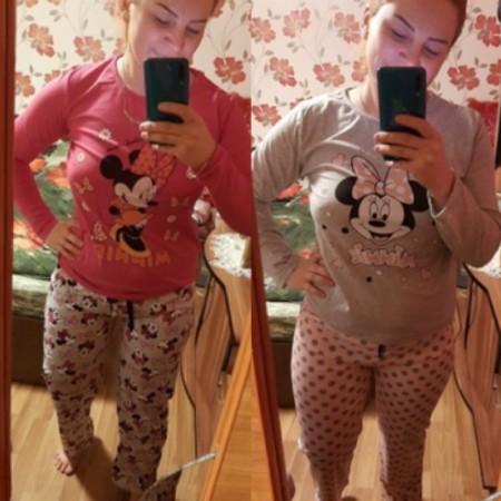 Au ajuns pijamalele imi plac amandoua. Va multumesc😘 - Georgiana necula