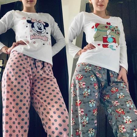 Va multumesc sunt super pijamalele 😘 - Bianca