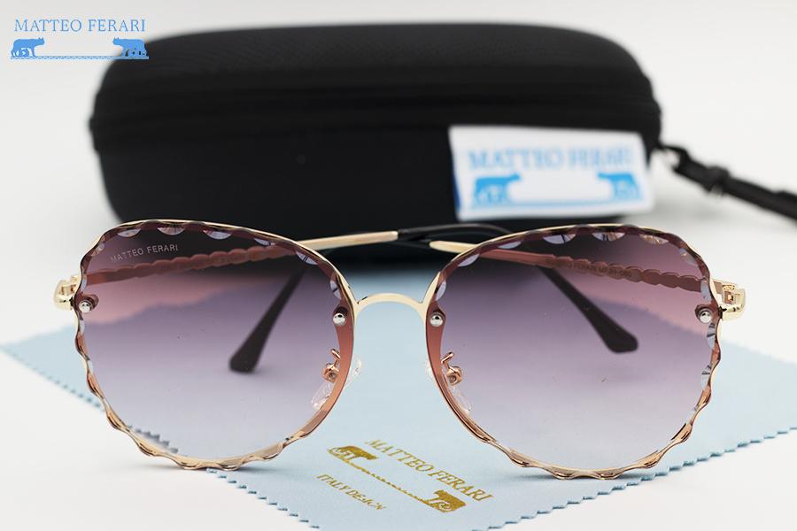 Ochelari de soare dama roz originali Matteo Ferari lentila polarizata
