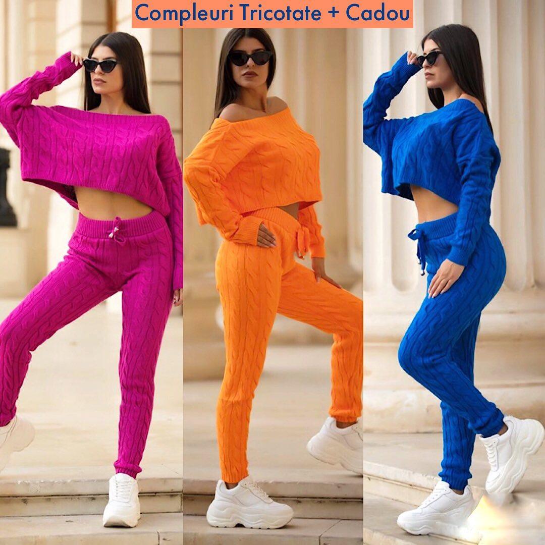 Superbe culori in nuante tomnatice 🎉🍁🌸 Tu iti alegi modelul si culoarea preferata de pe site, via @maroko.ro ❤️ Incepe toamna imbracata cu un compleu dintr-un material senzational, mega placut la atingere 😱💎 #online #shop #fall #clouds #weather #girls