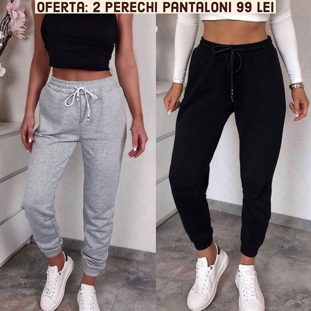 😍 Noile perechi de Pantaloni de Trening super cool! Ii gasesti pe site. @maroko.ro #new #newentry #pantaloni